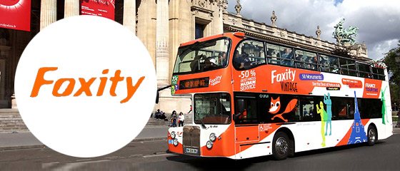 Foxity - Bus Tour paris: Panoramic double-decker buses for sightseeing in Paris