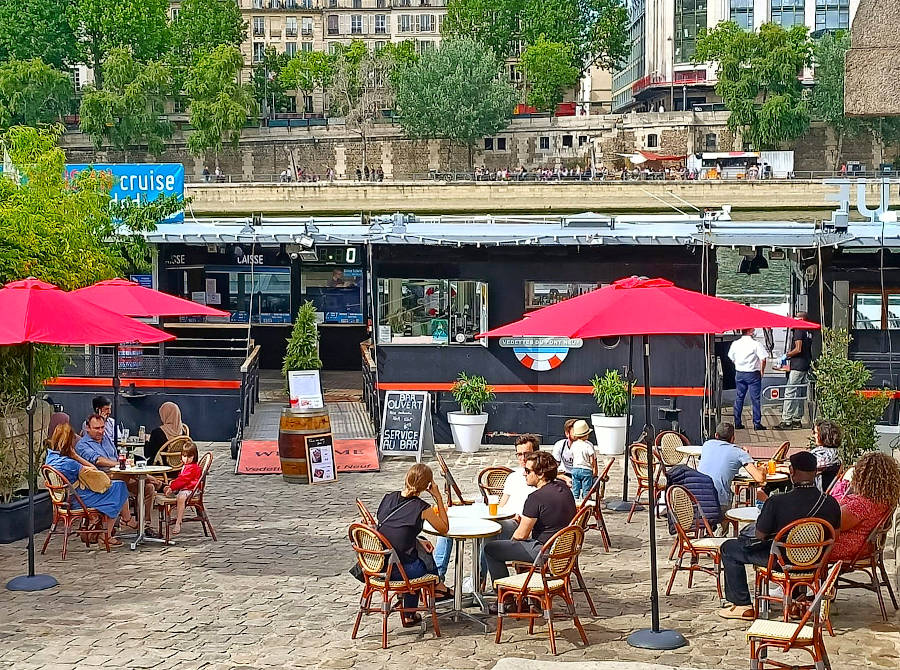 Parisian Terrace - storefront